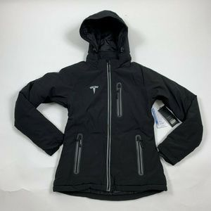 Tesla Womens Black Soft Shell Thermolite Coat